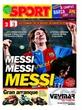 Portada diario Sport del día 11/3/2007