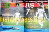 Portada diario As del día 24/12/2007