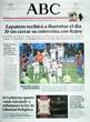 Portada diario ABC del día 8/5/2008