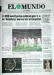 Portada diario El Mundo del día 8/5/2008