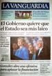 Portada diario La Vanguardia del día 8/5/2008