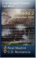 Foto de Cartel Partido Real Madrid