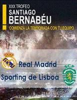 Foto de Cartel Trofeo Santiago Bernabéu