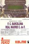 Fotografia del Partido Real Madrid C.F. 5 - F.C. Barcelona 0 de 7 de Enero de 1995-02