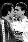 Fotografia del Partido Real Madrid C.F. 5 - F.C. Barcelona 0 de 7 de Enero de 1995-11