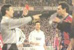 Fotografia del Partido Real Madrid C.F. 5 - F.C. Barcelona 0 de 7 de Enero de 1995-15