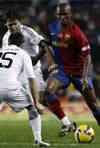 Fotografia del Partido F.C. Barcelona 2 - Real Madrid C.F. 0 de 13 de Diciembre de 2008-04
