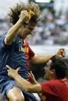 Fotografia del Partido Real Madrid C.F. 2 - F.C. Barcelona 6 de 2 de Mayo de 2009-08