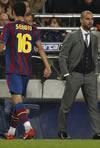 Fotografia del Partido F.C. Barcelona 1 - Real Madrid C.F. 0 de 29 de Noviembre de 2009-19