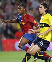 Foto de El F.C. Barcelona gana el Gamper en el descuento