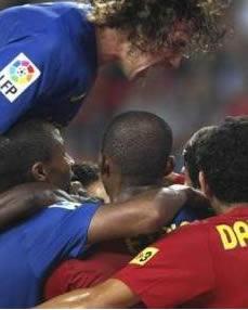 Foto de El Barcelona se pasea por el Molinón y golea al Sporting (1-6)