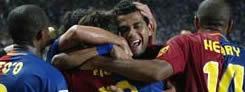 Foto de El Barcelona gana al Espanyol en un derby polémico