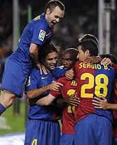 Foto de El Barcelona golea al Atlético de Madrid