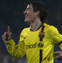 Foto de El Barça golea con la Masía al Basilea