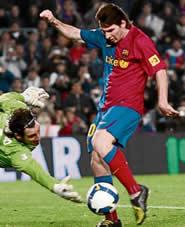 Foto de El Barça pasa a octavos venciendo al Benidorm