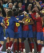 Foto de El Barcelona vence con facilidad al Valencia