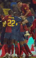 Foto de El Barcelona gana al Villarreal a domicilio