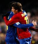 Foto de El Barcelona vence al Atlético en el partido de vuelta de la copa