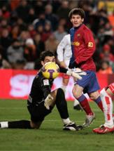 Foto de El Barcelona se toma la revancha y golea al Numancia