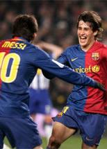 Foto de El Barcelona se clasifica para semifinales al vencer al Espanyol 3-2 en la vuelta de Copa