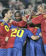 Foto de El Barcelona vence con autoridad 4-0 al Sevilla
