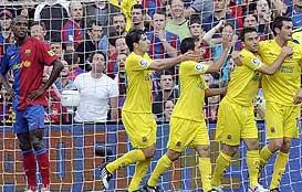 Foto de El Barça retrasa el alirón tras empatar 3-3 con el Villarreal