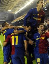 Foto de El Barcelona Campeón de la Copa del Rey al vencer 4-1 al Athletic de Bilbao