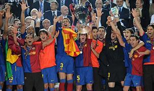 Foto de El Barcelona Campeón de Europa