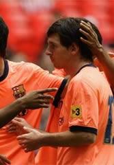 Foto de El Barcelona golea 1-4 al Al-Ahly en la segunda jornada de la Wembley Cup