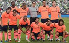 Foto de El F.C. Barcelona golea 0-4 al Sounders