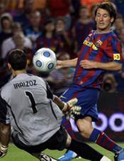 Foto de El Barcelona Supercampeón de España al vencer al Athletic también en el partido de vuelta por 3-0