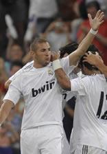 Foto de El Real Madrid golea 4-0 al Rosenborg en el Trofeo Santiago Bernabéu