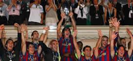 Foto de El Barcelona Supercampeón de Europa al vencer 1-0 al Shakhtar