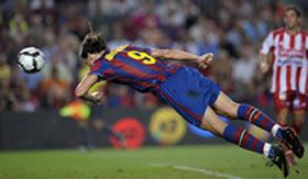 Foto de El Barça se estrena ganando 3-0 al Sporting e Ibrahimovic lo hace como goleador