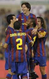 Foto de El Barcelona vence 1-4 al Racing