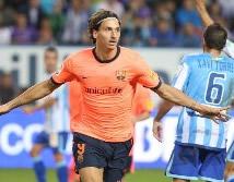 Foto de El Barcelona vence 0-2 al Málaga en la Romareda