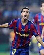 Foto de El Barcelona vence 0-2 a la Cultural Leonesa en la ida de la copa