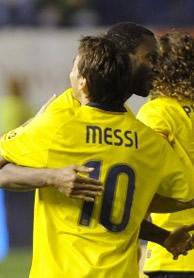 Foto de Osasuna le empata 1-1 con el Barcelona en el descuento