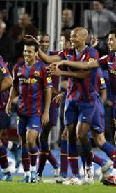 Foto de El Barcelona vence al Mallorca 4-2 con dos goles de Pedrito