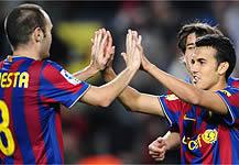 Foto de El Barcelona golea 5-0 a la Cultural Leonesa y certifica el trámite de copa