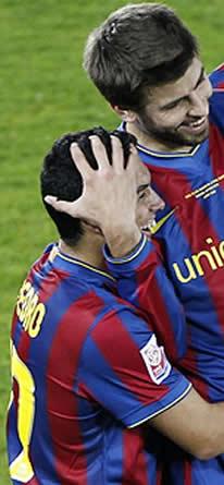 Foto de El Barcelona vence 1-3 al Atlante, se clasifica para la final y Pedrito hace historia