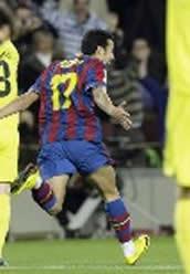 Foto de El Barcelona empata 1-1 con el Villarreal