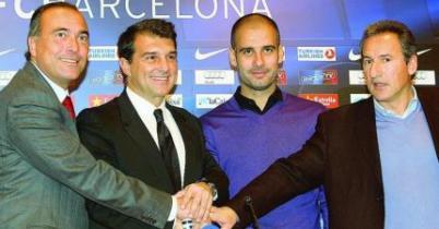 Foto de Guardiola llega a un acuerdo verbal para continuar un año más