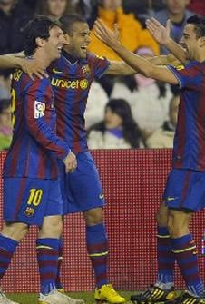Foto de El Barcelona vence con claridad 0-3 al Valladolid