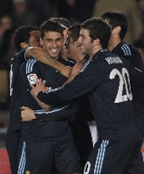 Foto de El Real Madrid golea 0-3 al Xerez