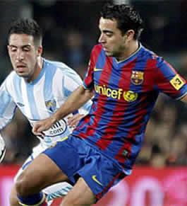 Foto de El Barcelona vence 2-1 al Málaga