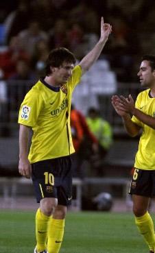 Foto de El Barcelona pincha y empata 2-2 en Almería