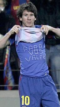 Foto de El F.C. Barcelona y un gran Messi golean 3-0 al Valencia