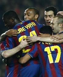 Foto de El Barcelona gola 4-0 al Stuttgart y se clasifica para cuartos