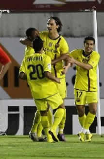 Foto de El F.C. Barcelona vence 0-1 en Mallorca